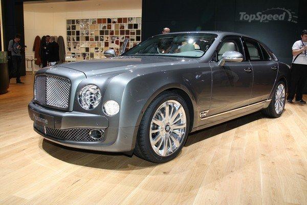 Presentación Bentley Mulsanne